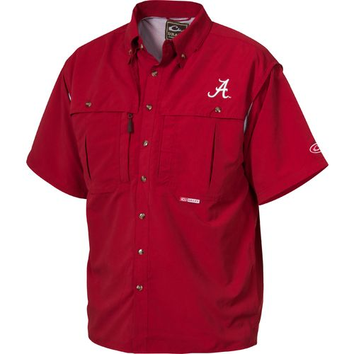 Drake Waterfowl Men's University of Alabama Wingshooter Shirt