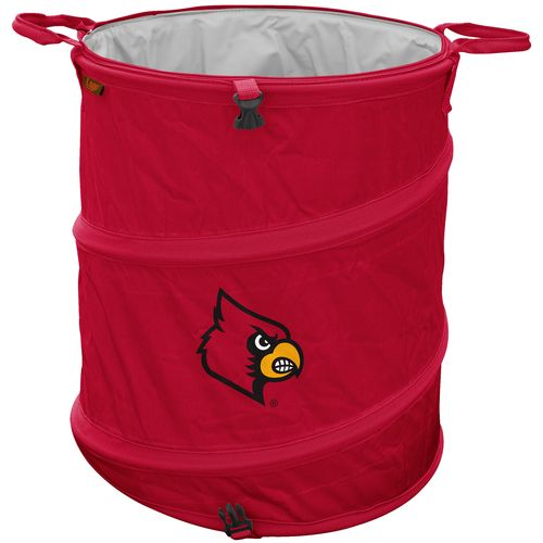 Logo™ University of Louisville Collapsible 3-in-1 Cooler/Hamper/Wastebasket - view number 1