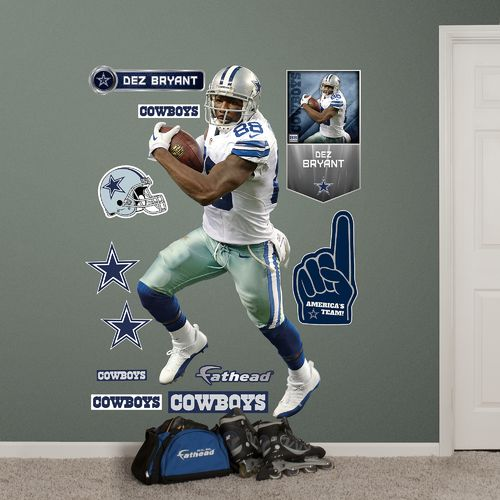 Fathead Dallas Cowboys Dez Bryant Real Big Wall