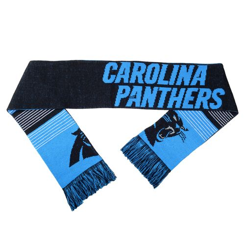 Team Beans Adults' Carolina Panthers Reversible Split Logo Scarf