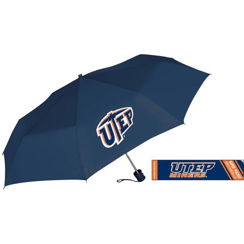 Storm Duds University of Texas at El Paso Super Pocket Mini Folding Umbrella