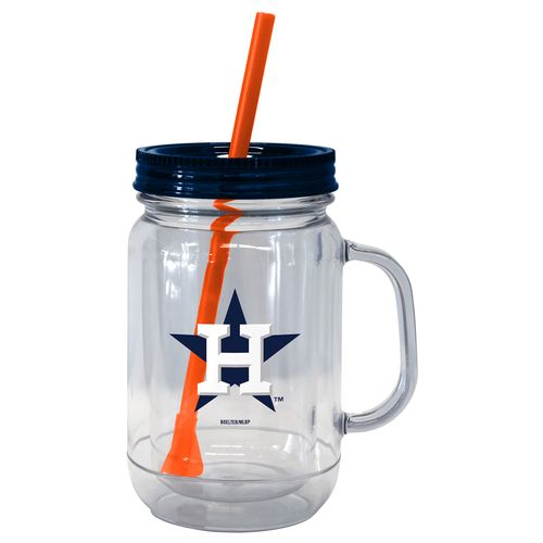 Boelter Brands Houston Astros 20 oz. Handled Straw Tumblers 2-Pack - view number 1