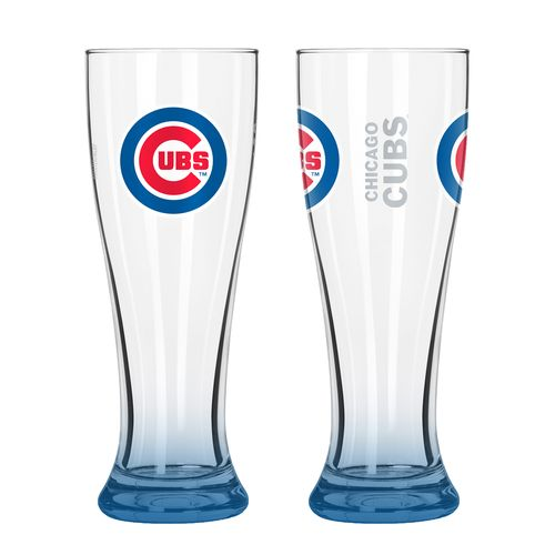 Boelter Brands Chicago Cubs Elite 16 oz. Pilsners 2-Pack