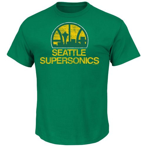 Majestic Men's Seattle Supersonics Post Up T-shirt