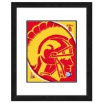 "Photo File University of Southern California Logo 16"" x 20"" Matted and Framed Photo"
