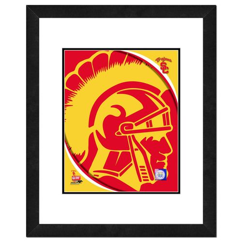 Photo File University of Southern California Logo 16' x 20' Matted and Framed Photo