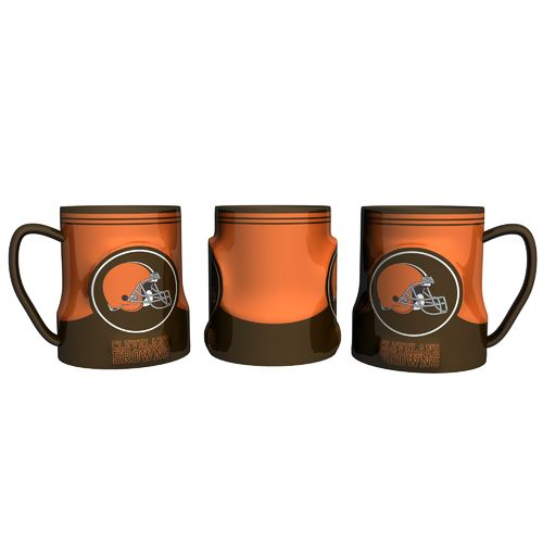 Boelter Brands Cleveland Browns Gametime 18 oz. Mugs