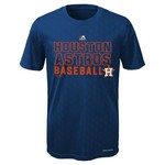 Majestic Boys' Houston Astros Geo Plex Cool Base Short Sleeve T-shirt