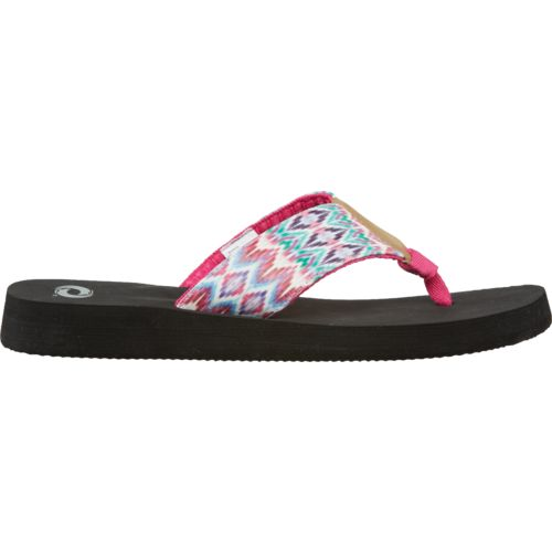 O'Rageous Women's Watercolor Flip-Flops