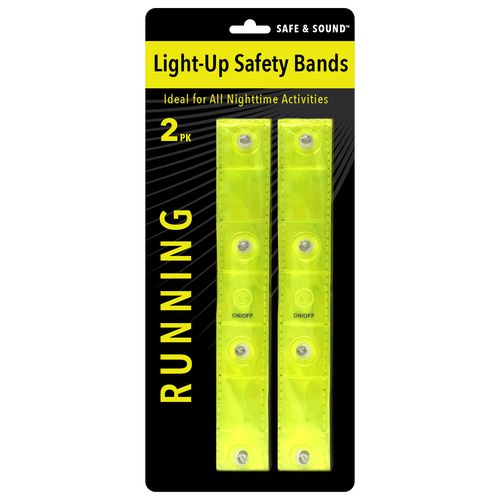 Venture Products Safe and Sound Light-Up Safety Bands 2-Pack