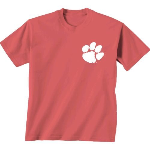 New World Graphics Women's Clemson University Floral T-shirt - view number 2