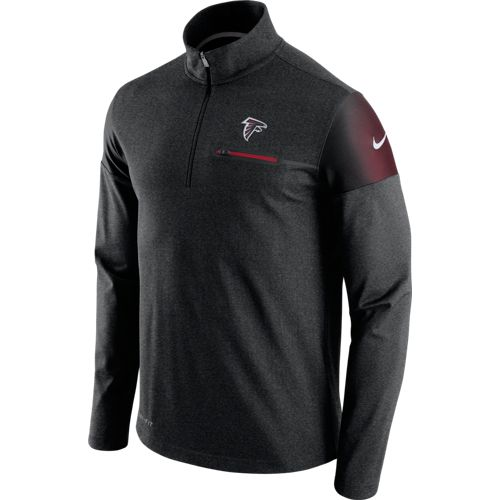 Nike Men's Atlanta Falcons Elite Coaches 1/2 Zip Top