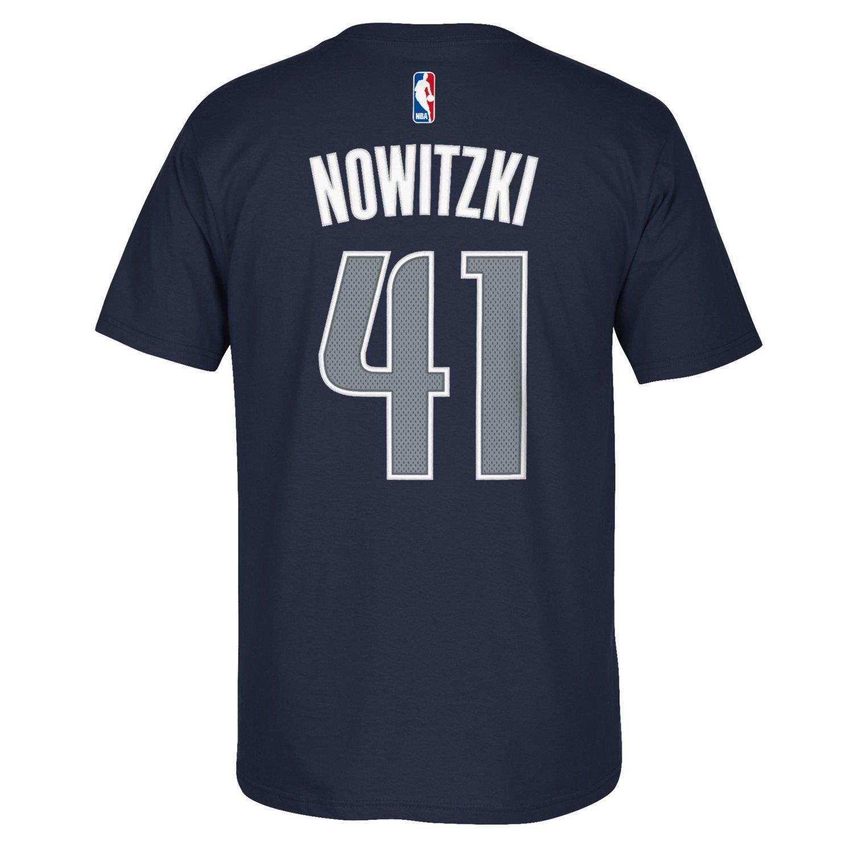 adidas Men's Dallas Mavericks Dirk Nowitzki #41 Game