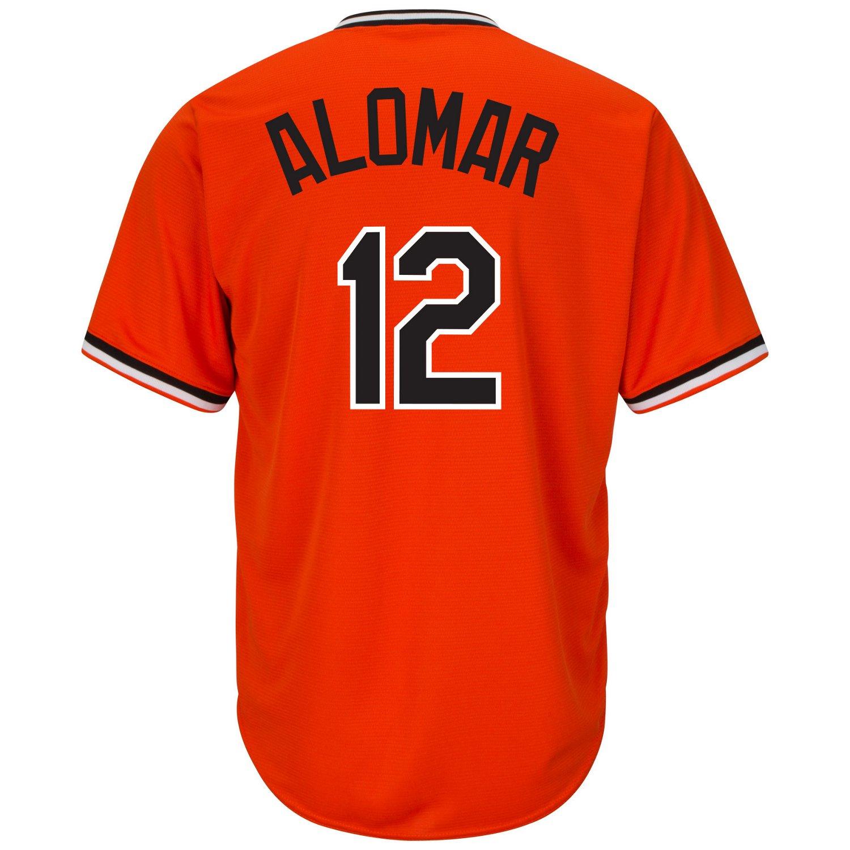 Majestic Men's Baltimore Orioles Roberto Alomar #12