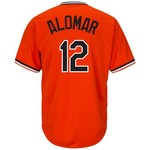 Majestic Men's Baltimore Orioles Roberto Alomar #12 Cooperstown Cool Base 1965-66 Replica Jersey - view number 1