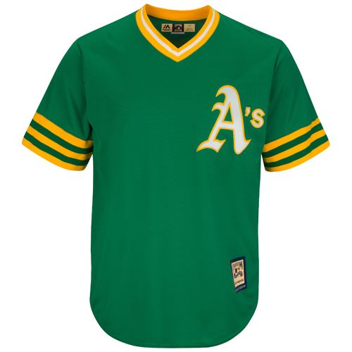 Majestic Men's Oakland Athletics Cooperstown Cool Base 1987 Replica Jersey