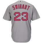 Majestic Men's Boston Red Sox Blake Swihart #23 Cool Base Replica Jersey - view number 1