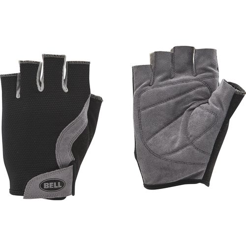 Bell Adults' Breeze 300 Half-Finger Mesh Cycling Gloves