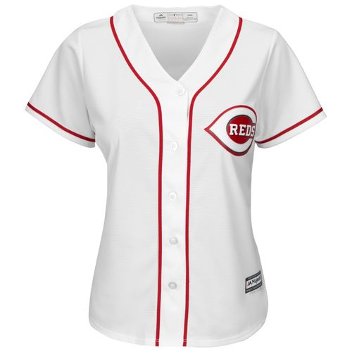 Majestic Women's Cincinnati Reds Cool Base® Replica Home Jersey