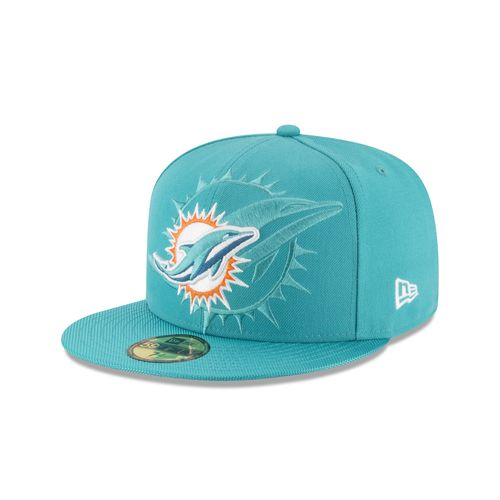 New Era Men's Miami Dolphins 59FIFTY Onfield Sideline Cap