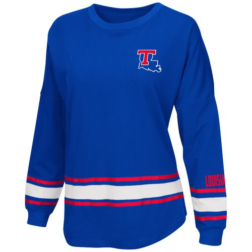 Colosseum Athletics™ Women's Louisiana Tech University All Around Oversize Long Sleeve T-sh