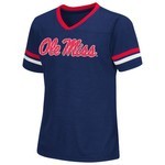 Colosseum Athletics™ Girls' University of Mississippi Titanium T-shirt