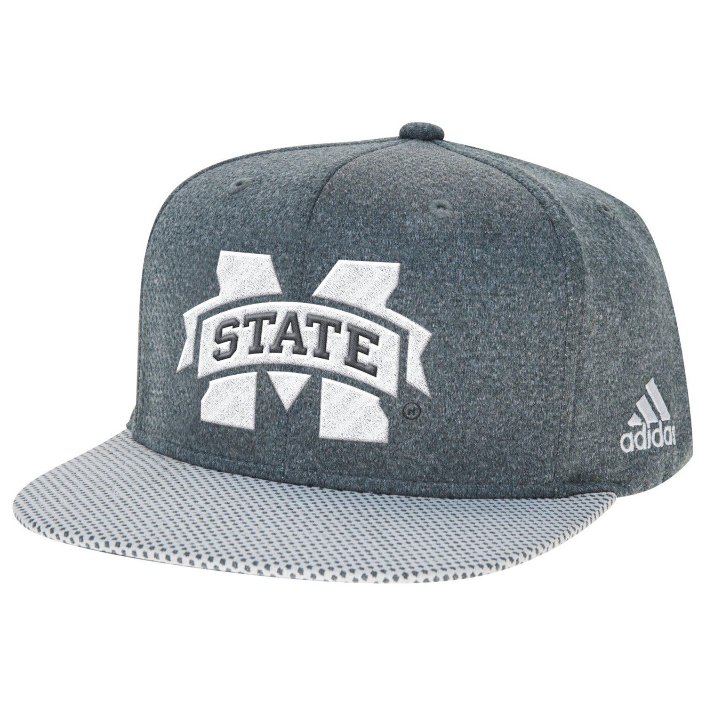 adidas™ Men's Mississippi State University Flat Brim Snapback Cap