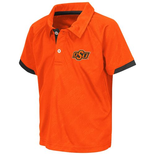 Colosseum Athletics™ Toddlers' Oklahoma State University Spiral Polo Shirt
