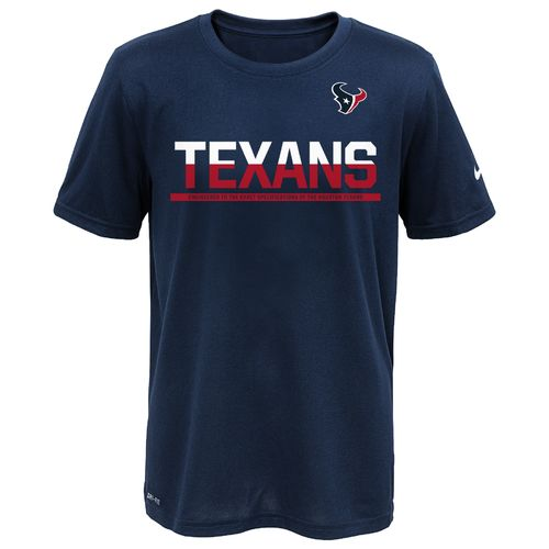 Nike™ Boys' Houston Texans 2016 Practice T-shirt