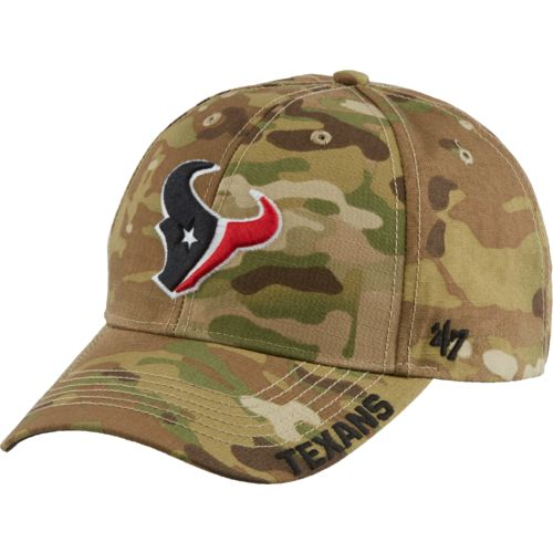 '47 Houston Texans Myers Camo MVP Cap