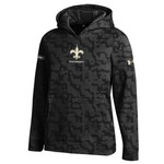 Under Armour™ NFL Combine Authentic Boys' New Orleans Saints Armour® Fleece Novelty Ho