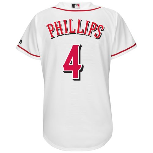 Majestic Women's Cincinnati Reds Brandon Phillips #4 Authentic Cool Base Jersey - view number 1