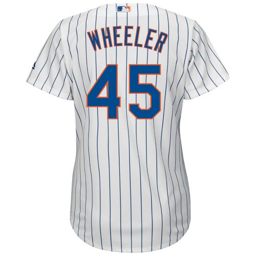 Majestic Women's New York Mets Zack Wheeler #45 Authentic Cool Base Home Jersey - view number 1