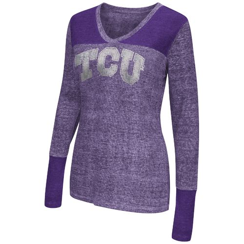 Touch by Alyssa Milano Women's Texas Christian University Goal Line Top