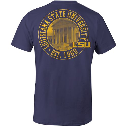 Image One Men's Louisiana State University Comfort Color T-shirt