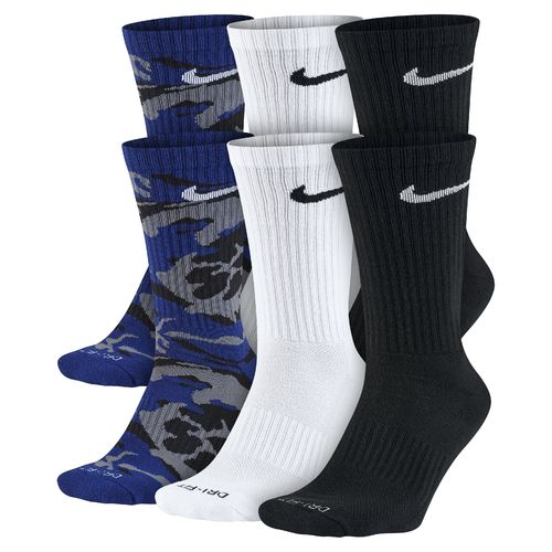 Nike Men's Dri-FIT Cushion Crew Socks 6-Pair