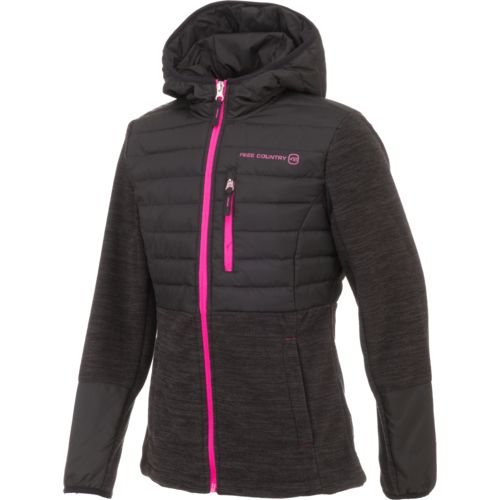 Free Country Girls' Power Down Hybrid Jacket