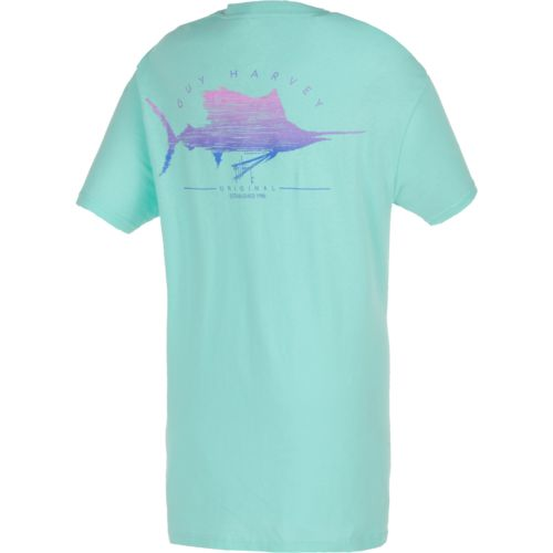 Guy Harvey Women's Sailfish Scribble T-shirt
