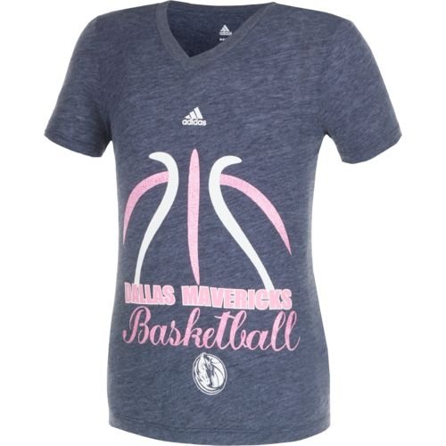 adidas™ Girls' Dallas Mavericks Bird of Paradise T-shirt