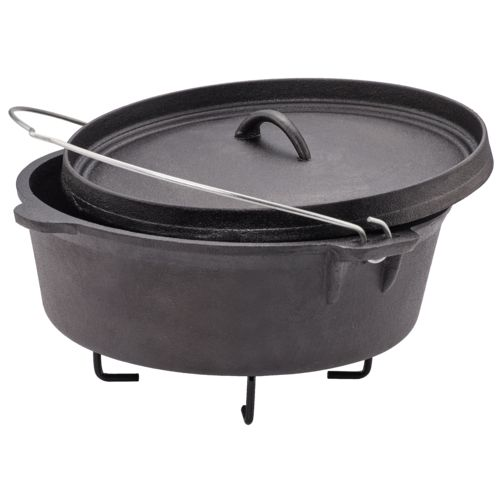 Outdoor Gourmet Cast-Iron Cookware Set in a Box - view number 4