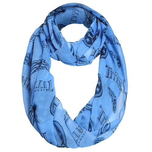 Forever Collectibles™ Women's Tennessee Titans Infinity Scarf