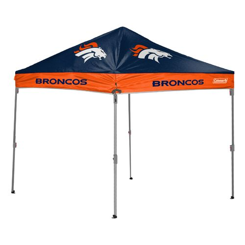 Coleman® Denver Broncos 10' x 10' Straight-Leg Canopy - view number 1
