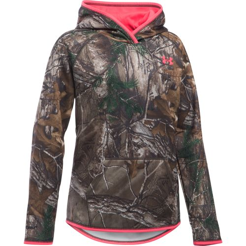 Under Armour Girls' Icon Camo Hoodie