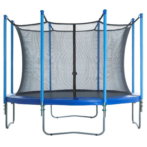 Upper Bounce® 8-Pole Trampoline Enclosure Set for 13' Round Frames with 4 or 8 W-Shape Legs - view number 6