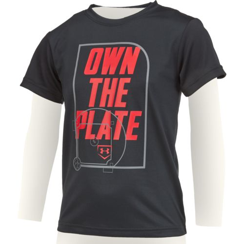 Under Armour™ Boys' Own The Plate Short Sleeve T-shirt