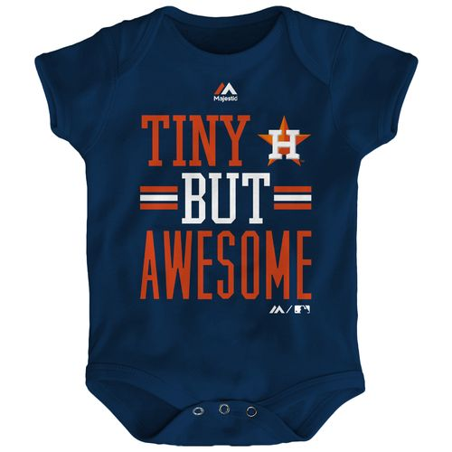 MLB Infants' Houston Astros Tiny But Awesome Onesie