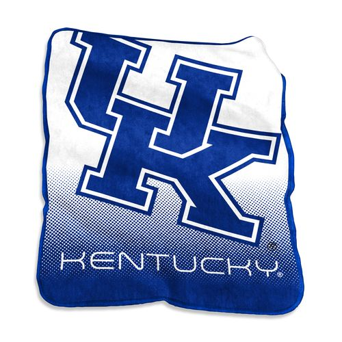 Logo University of Kentucky 50 in x 60 in Raschel Throw