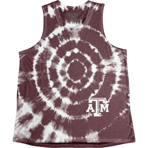 Blue 84 Women's Texas A&M University Retro Liquid Muscle Tank Top - view number 1