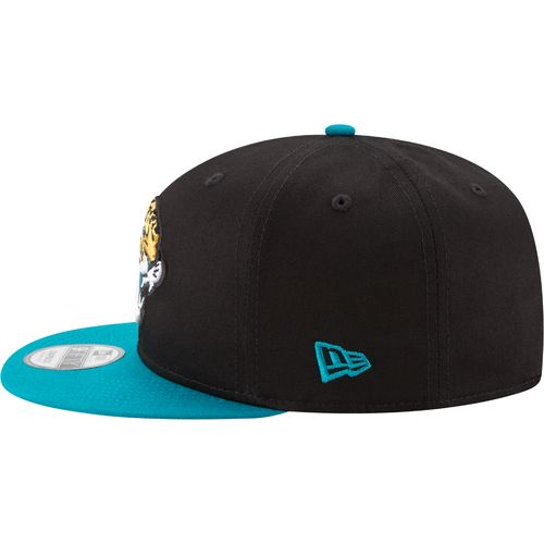New Era Men's Jacksonville Jaguars 9FIFTY Baycik Snapback Cap - view number 4
