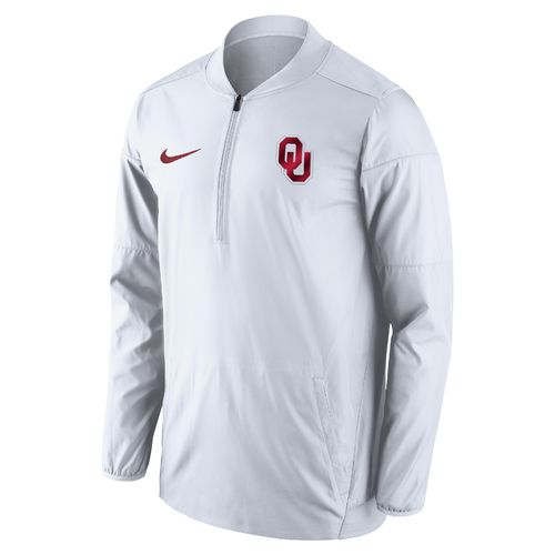 Nike™ Men's University of Oklahoma Lockdown 1/2 Zip Jacket